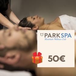 Chèque cadeau 50 € Park Spa...